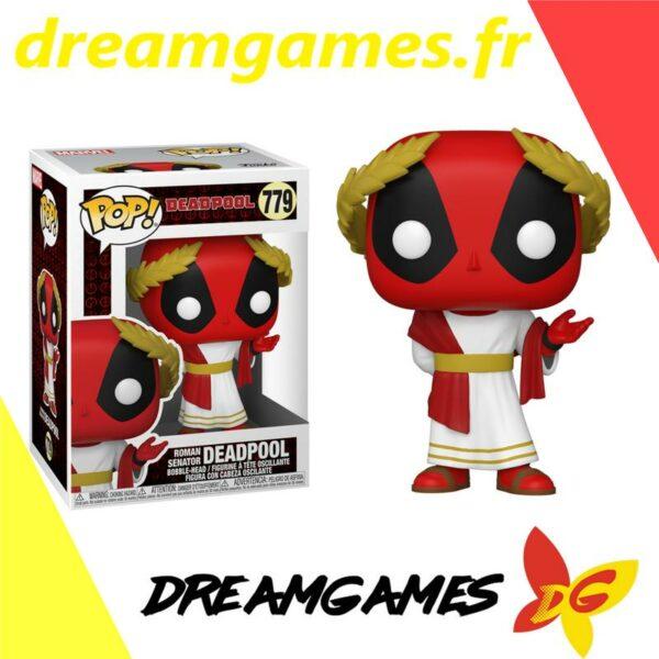 Figurine Pop Deadpool 779 Roman Senator Deadpool