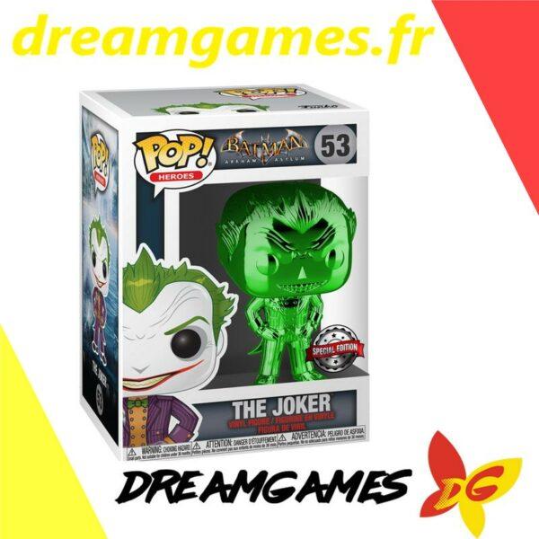 Figurine Pop Batman Arkham Asylum 53 The Joker GR CH