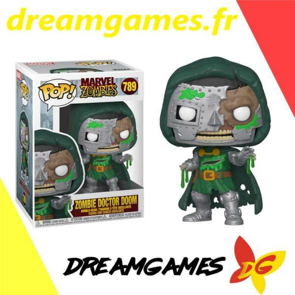 Figurine Pop Marvel Zombies 789 Zombie Doctor Doom