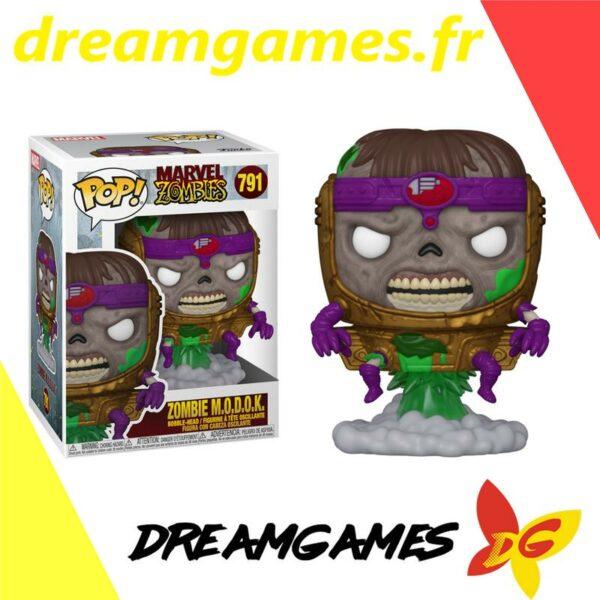 Figurine Pop Marvel Zombies 791 Zombie MODOK