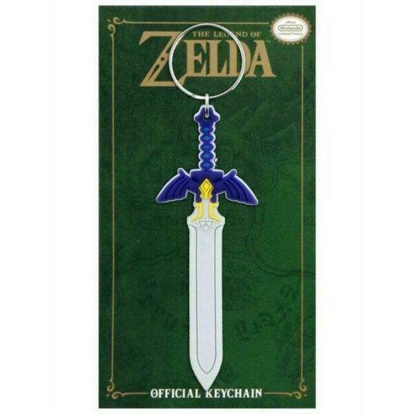 The Legend of Zelda Master Sword rubber Keychain 1