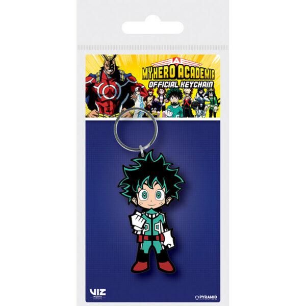 MY Hero Academia Rubber Keychain 1