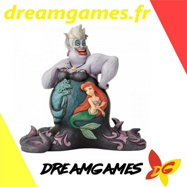 Figurine Disney Traditions Ursula with scene