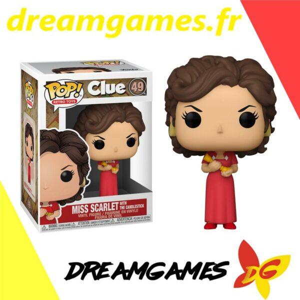 Figurine Pop Clue 49 Miss Scarlet