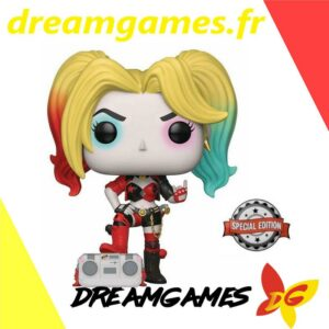 Figurine Pop Harley Quinn with boombox 279