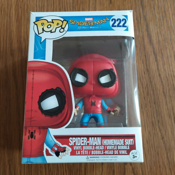 Figurine Pop Spider-Man Homecoming 222 Homemade suit (Not mint) 1