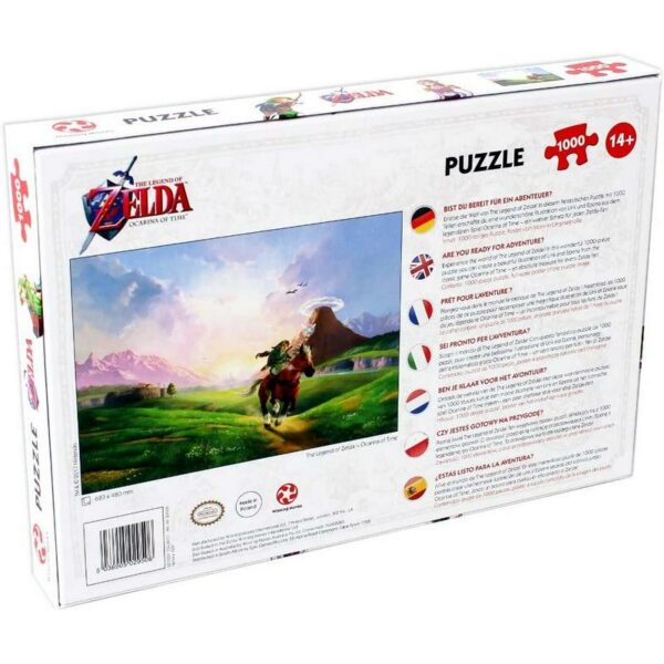 Puzzle Zelda Ocarina of Time 1000 pièces 1