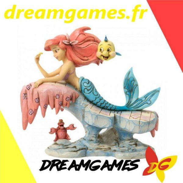 Figurine Disney Traditions Ariel on rock
