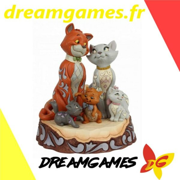 Figurine Disney Traditions Carved by Heart Aristochats
