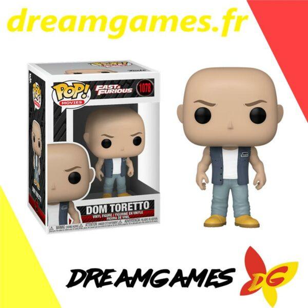 Figurine Pop Fast & Furious 1078 Dom Toretto