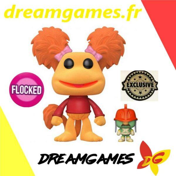 Figurine Pop Fraggle Rock 519 Red with Doozer Flocked