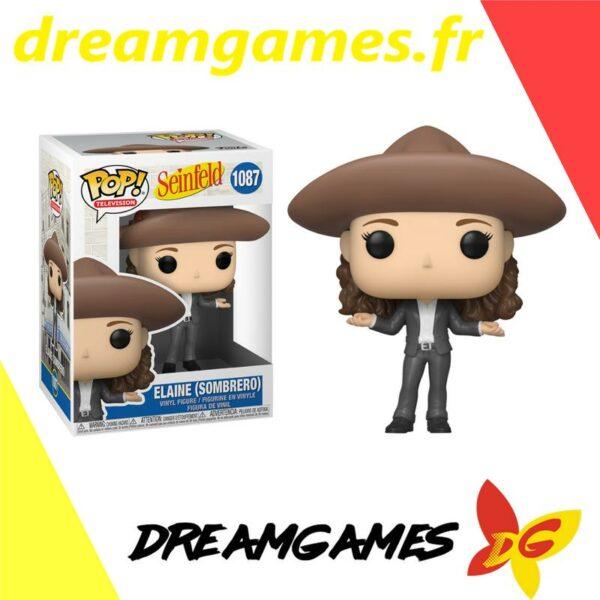 Figurine Pop Seinfeld 1087 Elaine in Sombrero