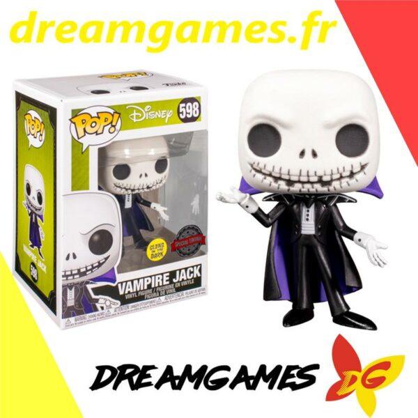Figurine Pop Disney 598 Vampire Jack GITD