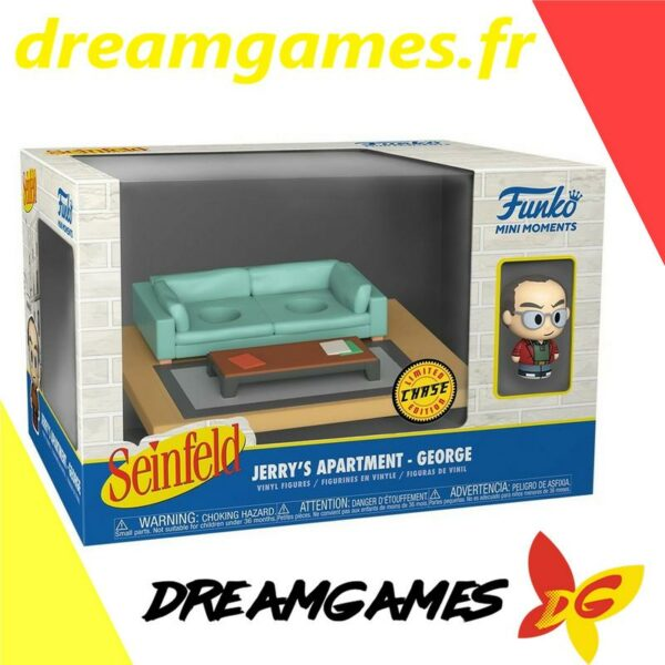 Funko Mini Moments Seinfeld Jerry's apartment George Chase