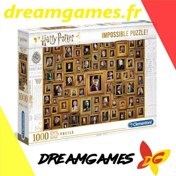 Puzzle 1000 pièces Harry Potter Impossible Puzzle