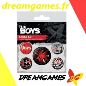 The Boys Badge set