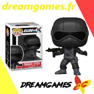 Figurine Pop G.I. Joe 76 Snake Eyes