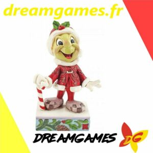 Figurine Disney Traditions Christmas Jiminy Cricket