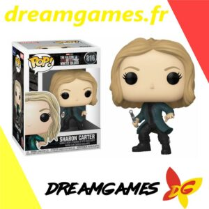 Figurine Pop Falcon and the Winter Soldier 816 Sharon Carter