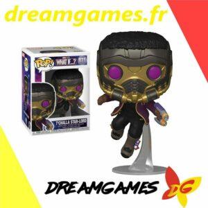 Figurine Pop Marvel 871 T'Challa Star-Lord