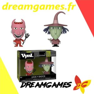Figurines Vynl The Nightmare before Christmas Lock + Shock