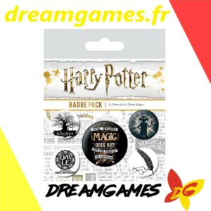 Harry Potter Badge pack 5 pces