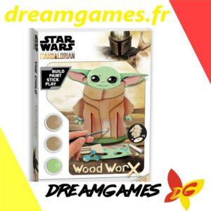 Star Wars The Mandalorian Wood Worx Grogu