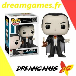 Figurine Pop Monsters 799 Dracula Special Edition