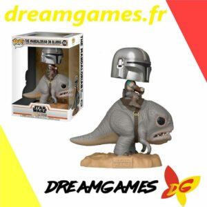 Figurine Pop The Mandalorian on Blurrg 358