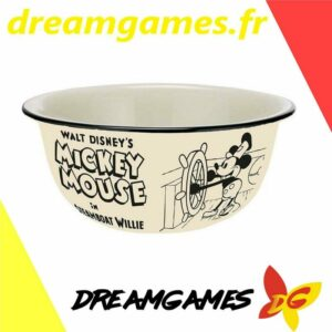 Mickey Steamboat Willie bowl