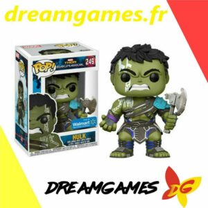 Figurine Pop Thor Ragnarok 249 Hulk No Helmet