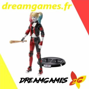 DC Harley Quinn Figurine Toyllectible avec support 19 cm