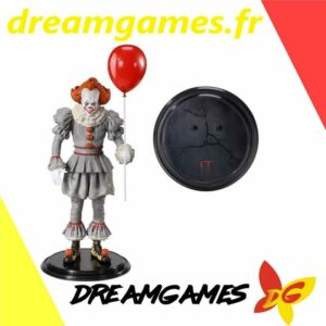 IT Pennywise Figurine Toyllectible avec support Bendyfigs