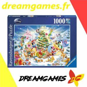 Puzzle Noël avec Disney 1000 pièces